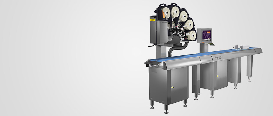 Automatic weigh-price labelling machines ES 7800